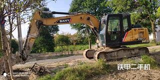 黑河三一重工SY135C挖掘機實拍圖片