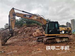 湖南-长沙市二手卡特彼勒320DGC液压挖掘机实拍照片
