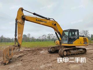 亳州柳工CLG920E挖掘機實拍圖片