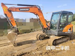 斗山DX60E-9CN挖掘機實拍圖片