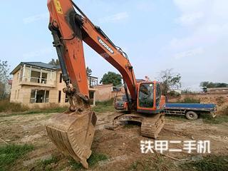 保定斗山DX215-9C挖掘機實拍圖片