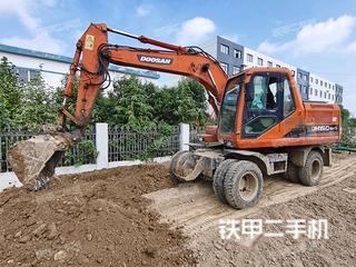 蚌埠斗山DH150W-7挖掘機實拍圖片