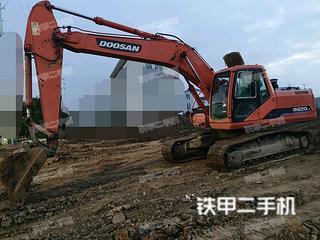 蚌埠斗山DH220LC-7挖掘機實拍圖片