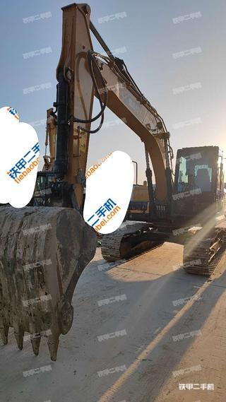 北京三一重工SY155H挖掘機實拍圖片
