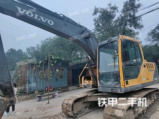 北京沃爾沃EC140BLC挖掘機實拍圖片