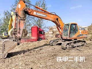 亳州斗山DH215-9挖掘機實拍圖片