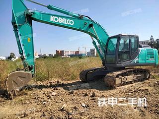 神钢SK200-10挖掘机实拍图片
