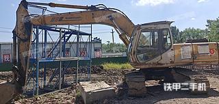 住友SH200A2挖掘機實拍圖片