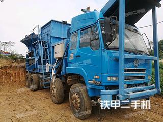 桂浙机械1416车载重锤移动破移动破碎站实拍图片
