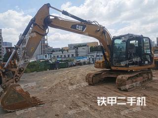 深圳卡特彼勒312D挖掘机实拍图片