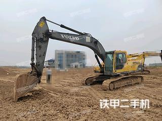亳州沃爾沃EC240BLC挖掘機實拍圖片