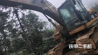 宜昌卡特彼勒320D液壓挖掘機實拍圖片