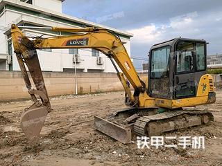 雷沃重工FR60E挖掘机实拍图片