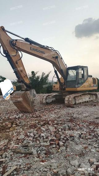 柳州柳工CLG922E挖掘机实拍图片