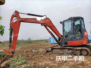 安徽-阜阳市二手久保田KX165-5挖掘机实拍照片