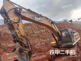 宜賓三一重工SY475H挖掘機實拍圖片