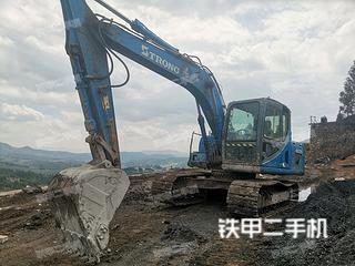 曲靖山重建機GC178-8挖掘機實拍圖片