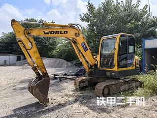 沃得重工W265-8挖掘机实拍图片