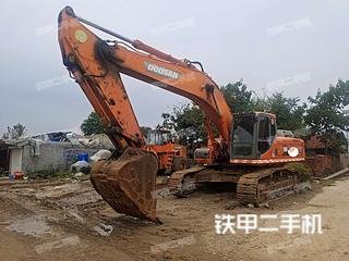 斗山DX380LC挖掘機實拍圖片