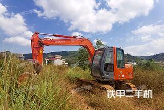 昆明日立ZX70挖掘機實拍圖片