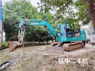安徽-亳州市二手神钢SK60-8挖掘机实拍照片