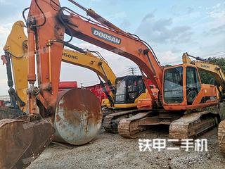 曲靖斗山DH225-7挖掘機實拍圖片