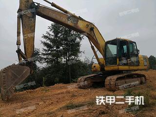 湖南-株洲市二手小松PC200-7挖掘机实拍照片