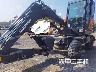 蚌埠斗山DX60WN ECO挖掘機實拍圖片