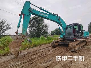 北京神鋼SK210LC-8挖掘機實拍圖片