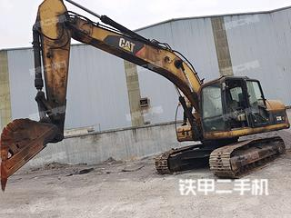 南川卡特彼勒320DGC液壓挖掘機實拍圖片