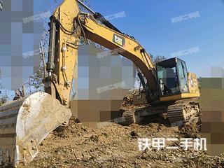 蚌埠卡特彼勒320GC挖掘機實拍圖片