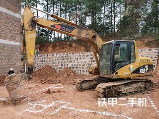 宜昌卡特彼勒312C挖掘機實拍圖片