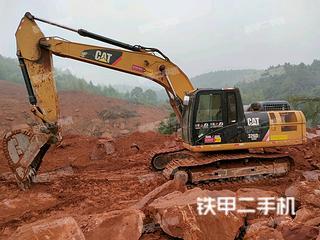 永州卡特彼勒326D2液压挖掘机实拍图片
