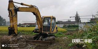 玉柴YC85-8挖掘机实拍图片