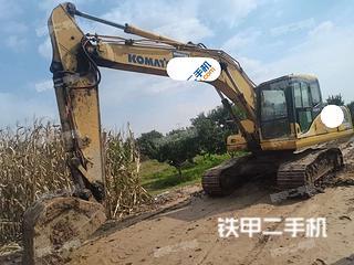 石家庄小松PC200-7挖掘机实拍图片