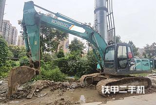 湖南-湘西土家族苗族自治州二手神钢SK200-8挖掘机实拍照片