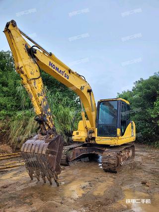 肇慶小松PC130-7挖掘機實拍圖片