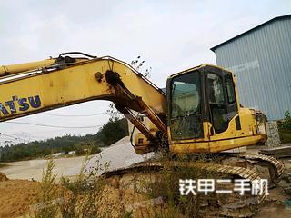 江西-九江市二手小松PC200-8挖掘机实拍照片
