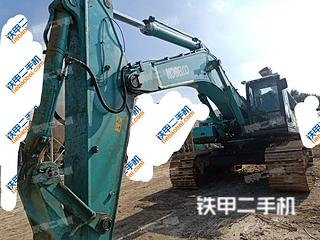 金山神钢SK480LC-8挖掘机实拍图片