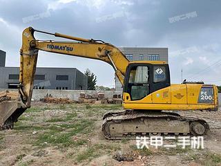 安徽-马鞍山市二手小松PC200-7挖掘机实拍照片