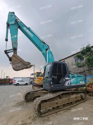 江苏-无锡市二手神钢SK210LC-8挖掘机实拍照片