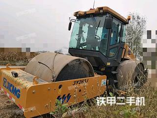 安徽-宿州市二手徐工3Y263J压路机实拍照片