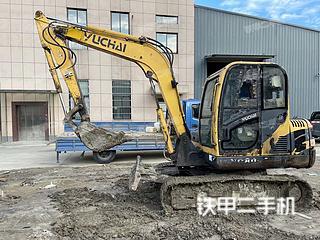玉柴YC60-8挖掘机实拍图片