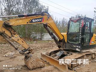 廊坊三一重工SY60C挖掘机实拍图片