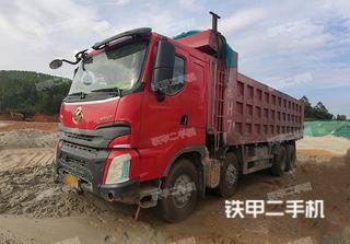 连云港东风8X4工程自卸车实拍图片