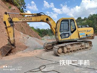 玉柴YC135-8挖掘机实拍图片