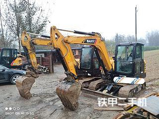 廊坊三一重工SY55C挖掘机实拍图片