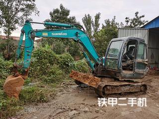 临汾山河智能SWE70N9挖掘机实拍图片