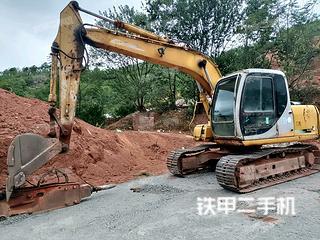 深圳住友SH120-3挖掘机实拍图片