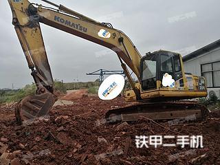湖南-株洲市二手小松PC200-8挖掘机实拍照片